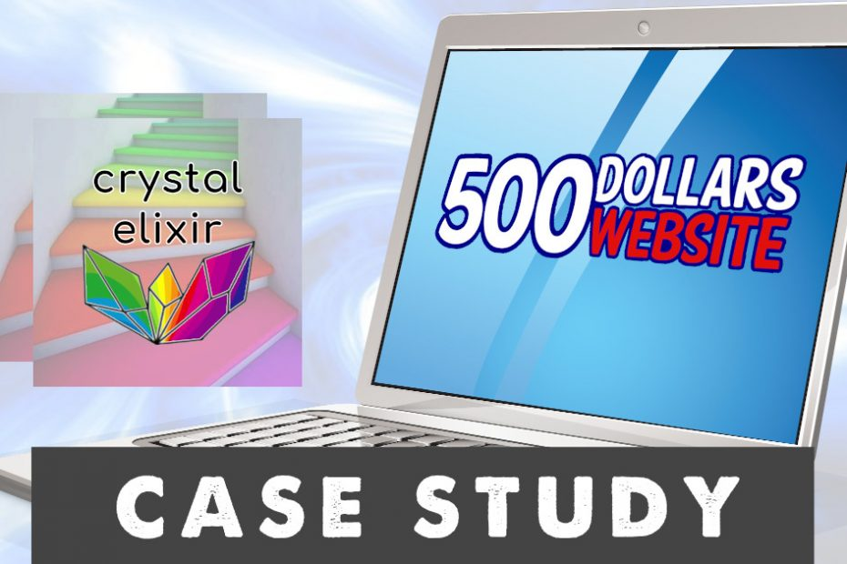 Website Design Case Study Crystal Elixir